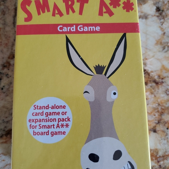 Smart Ass A** Card Game Stand-Alone or Expansion
